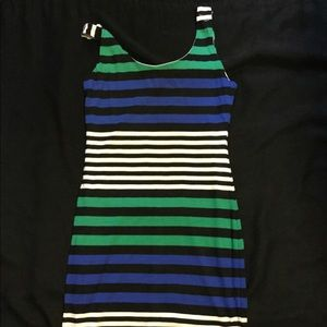 Soprano Dresses - Soprano Stripe Mini Dress